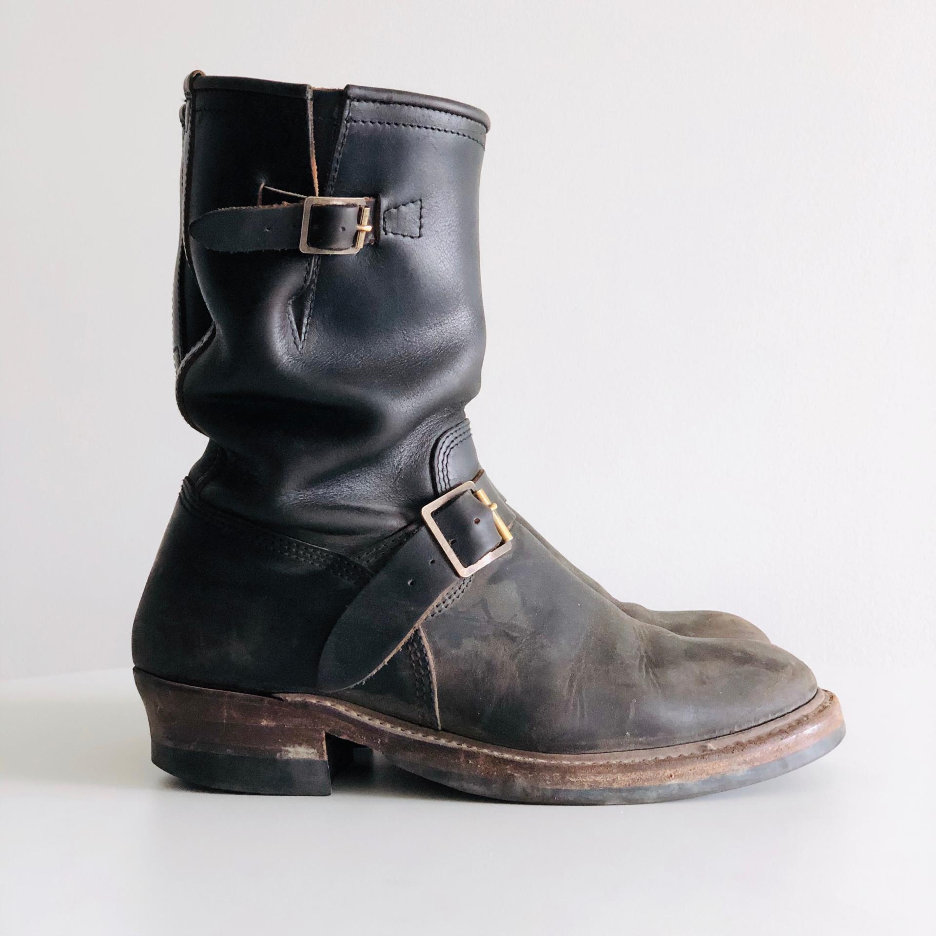 John Lofgren Egineer boots