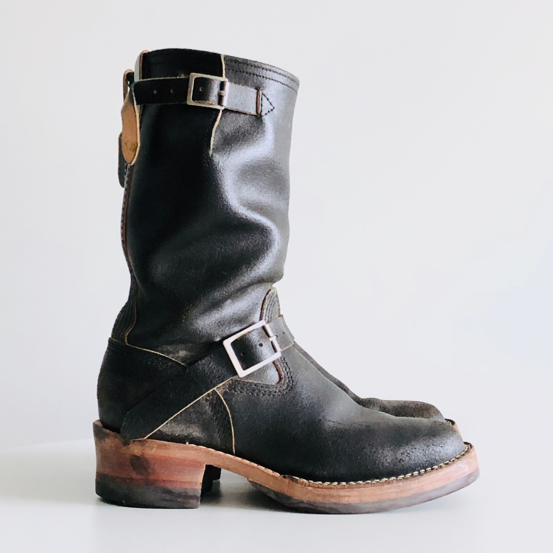 Wesco Knuckle Dragger Engineer boot